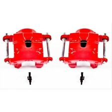 Powerstop S4071-Performance Brake Calipers Powder Coated Red-Front