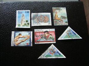 SRI LANKA -timbre yvert/tellier n°1089 1091 1097 1100 1102 1106/07 oblitere(A46)