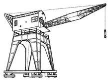Dapol C30. Dockside Crane- Plastic Kit. (00) Railway Model