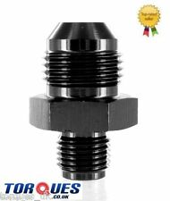 """AN -10 (10AN JIC AN10) to 5/8"""" x 18 UNF Straight Adapter In Black"""