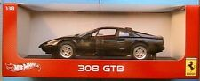 Ferrari 308 GTB 1975 Black Foundation 1 18 Model V8378 Hot Wheels