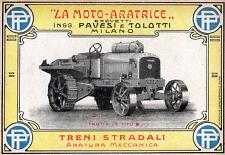 PAVESI-TOLOTTI-moto aratrice-trattore-agricoltura