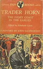TRADER HORN - THE IVORY COAST IN THE EARLIES - 1870S AFRICA SAFARI & IVORY TRADE