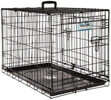 Two Door Wire Dog Crate Precision Lock System Various Size Available Durable NEW