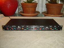 DBX 166, 2 Channel Overeasy Compressor, Gate, Limiter, 115/230 V, Vintage Rack