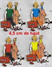 pins pin SUPERBE SERIE COMPLETE DE 4 PIN'S TINTIN avec 1 Manche blanche
