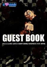 One Piece BL Doujinshi Anthology Comic Sanji Zoro Nami x Usopp Guest Book