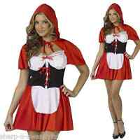 Mujer Sexy Caperucita Roja Fiesta De Halloween Disfraz