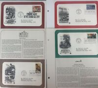 Lot Of 4/ First Day Of Issue Stamps