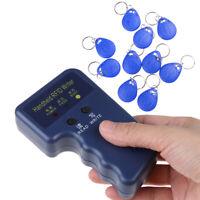 125KHz Handheld RFID Writer/ Copier/ Readers/ Duplicator With 10x ID Tags PE