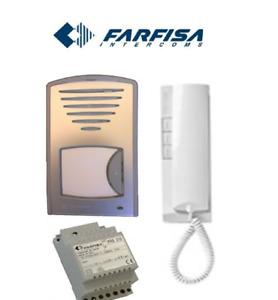 FARFISA 1UPS Door Entry Audio Intercom 1-way System With Internal Station