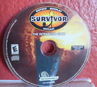 Survivor: The Interactive Game (PC, 2001) - Disc Only Disc Only USED
