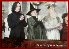 HARRY POTTER AND THE GOBLET OF FIRE - Card #138 - SNAPE / ALAN RICKMAN - ARTBOX