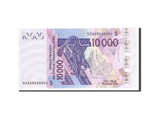 [#113925] West African States, Guinea Bissau, 10,000 Francs, 2003, KM:918Sa