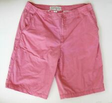 Paper Denim & Cloth PD&C Mens 36 Lite Red Chino Shorts 100% Cotton