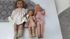 Bambole Lotto anni 30-40 Aurora Bonomi Alberani? occhi basculanti con difetti