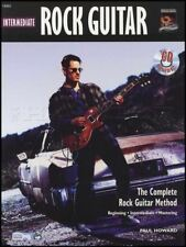 Intermediate Rock Guitar TAB Music Book with CD Learn How To Play Method