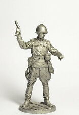 Tin soldier, figure. The captain of the infantry of the red Army USSR 54 mm