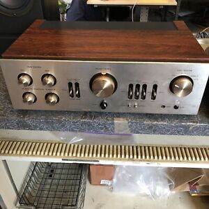 Luxman L-80V Stereo Integrated Amplifier Amp As Is Solid State Vintage Japan
