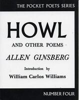 Howl and Other Poems (City Lights Pocket Poets, No. 4) by Allen Ginsberg
