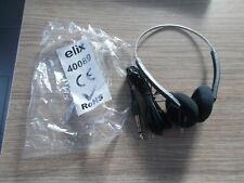 Lot de 3 écouteurs Audio / Vidéo (prise jack 6.35 mm) HAUTE FREQUENCE ELIX 40089