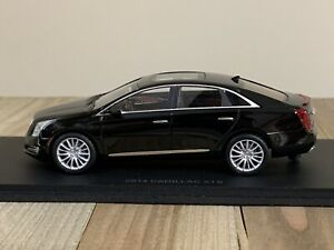 Rare! 1/43 Luxury Collectibles 2014 Cadillac XTS Resin Model Black US Seller