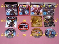 4x PS3_Uncharted 3 & Lost Planet 2 & Mass Effect 3 & Assassins Creed Revelations