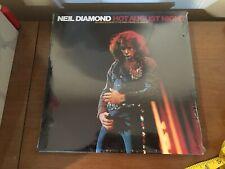 Neil Diamond Hot August Night SEALED 1972 Double LP MCA2-10013