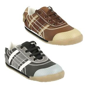 BOYS KIDS JCDEES LACE UP CASUAL TRAINERS SPORTS RUNNING SHOES N1026