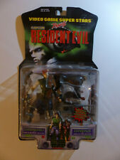 Resident Evil 2 Chris Redfield & Cerberus toybiz 1998 RARE, GREAT STATE