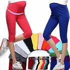 Cotton 7 Pant Elastic Maternity Pregnant Women Comfortable Leggings Capris