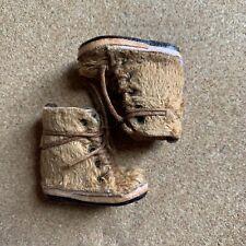 Blythe Brown Fur Boots