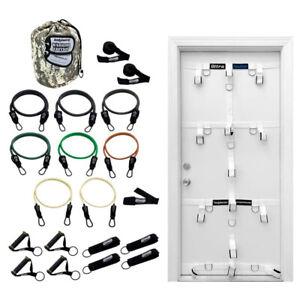 Bodylastics Exercise Equipment Warrior XT Bundle Set w/ Ultra Door Anchor System