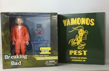 Breaking Bad Toys Jesse Pinkman Vamonos Pest Orange Hazmat Figure EE Exclusive