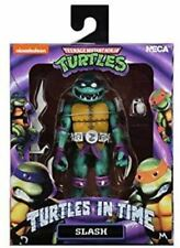 "NECA TMNT Turtles in Time Series 1 Slash 7"" Scale Action Figure"