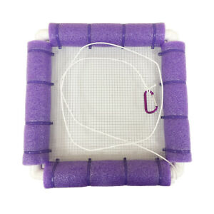 Shark Tooth Ocean Sifter - Floating Sieve Sifter Sand Flea Rake Accessory PURPLE