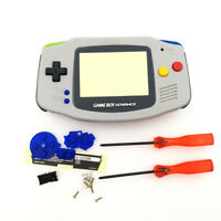 Limited Grey Housing Shell Case for Nintendo Game Boy Advance GBA