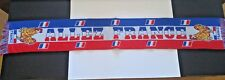 France Scarf Football FANS Soccer Red White Blue Blues echarpe French World cup