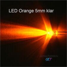 LED 5mm Weiß, Warmweiß, Gelb, Orange, Rot, Grün, Blau + Widerstände 3V - 16V