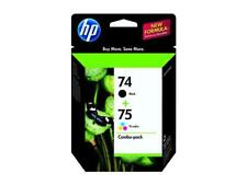 HP 74/75 Ink Cartridge - Combo Pack - Black/Cyan/Magenta/Yellow