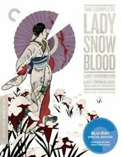 Criterion Collection Complete Lady Snowblood BLURAY