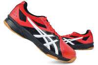 ASICS Men's Court Break Badminton Shoes Indoor Volleyball Red NWT 1071A003-608