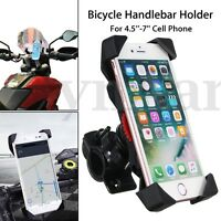 360° Universal Motorcycle Bike Bicycle Handlebar Mount Holder For Cell Phone  !