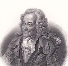 Portrait Voltaire François Marie Arouet