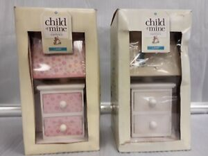 Child of Mine by Carter's Nursery Lamp Yellow & Pink NEW IN BOX HARD 2 FIND