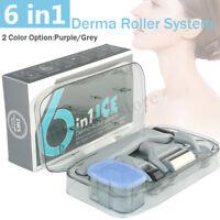 6 IN 1 Micro Titane Aiguille Peau Soin Kit Acné Cicatrice Anti-age Derma