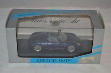 Minichamps #063131 Porsche Boxter irisblau 1:43 mint in box