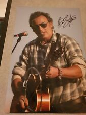 Bruce Springsteen Signed 12 X 10 Colour Photo