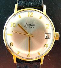 Mechanische Glashütte Original Armbanduhren (Handaufzug) mit Datumsanzeige