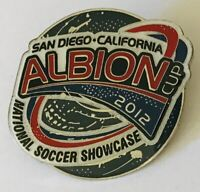 San Diego California Albion Cup 2012 National Soccer Pin Badge Rare Vintage (D9)